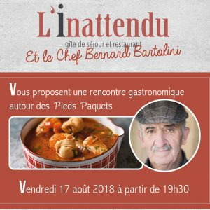 SOIREE PIEDS PAQUETS